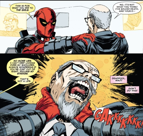 Deadpool violent