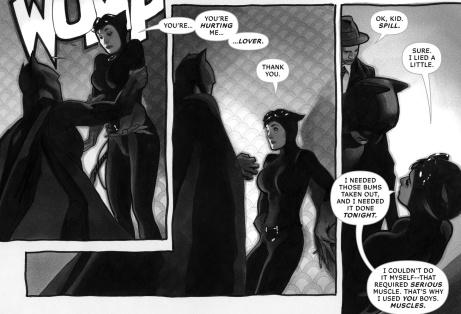 Batman BW Selina