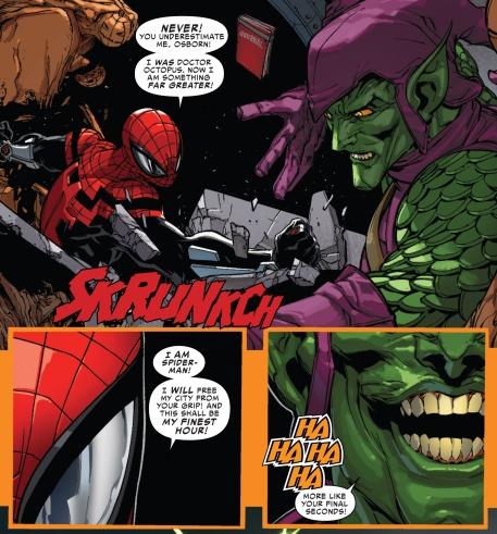Spider-Man Ock vs Goblin