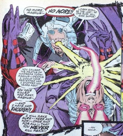 Magneto shutdown