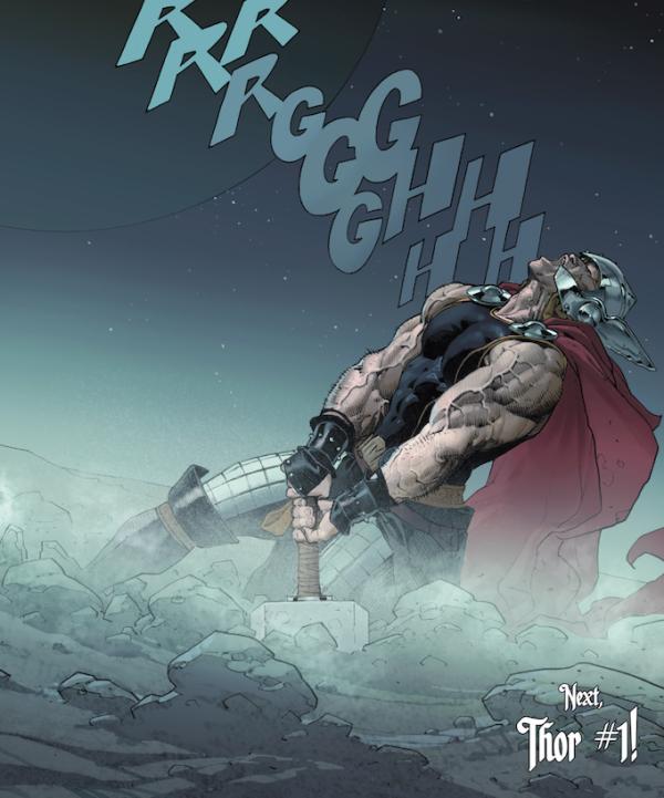 Thor falls