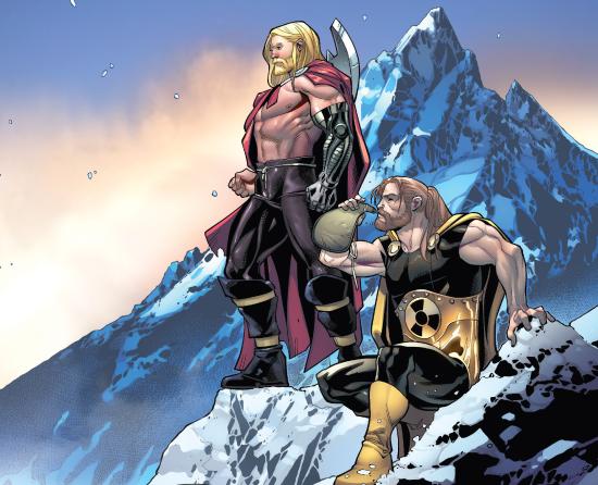 Hyperion & Thor