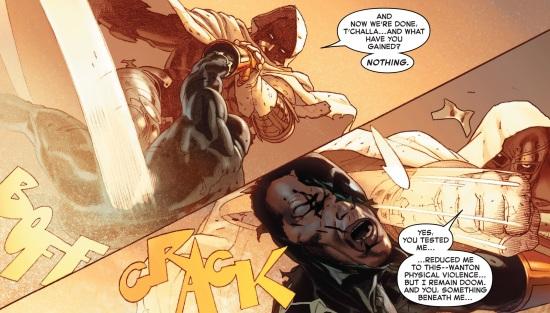 T'Challa & Doom